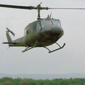 Bell-Huey Helicopter….. - Military and Wartime
