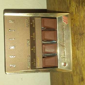 1950's Zenith space commander 400 remote - Electronics