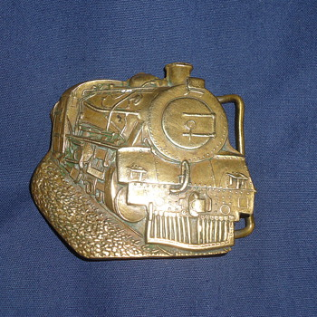 railroad buckel - Railroadiana