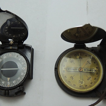 2 WWII Marching Compasses
