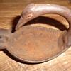 Cast Iron swan ashtray