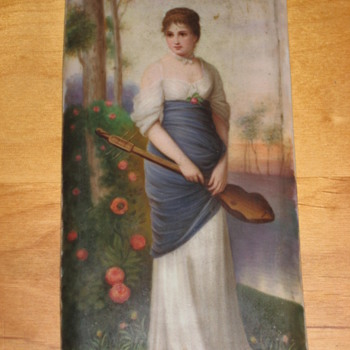 Old Porcelain Plaque KPM Berlin