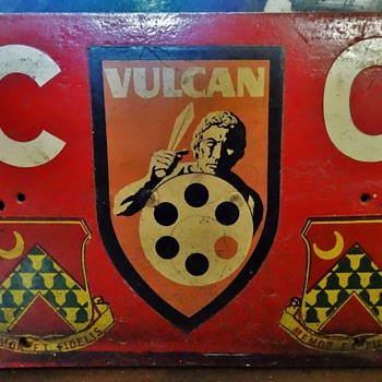 Battalion Commanders License Plate from Vietnam - Military and Wartime