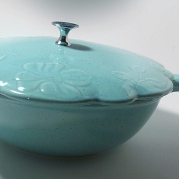 beautiful color covered casserole - Kitchen