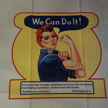World War 2 Poster Rosie the Riveter - Posters and Prints
