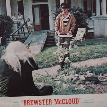 """Brewster McCloud"" Lobby Card"