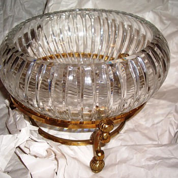 Early American Cut Glass-Gorgeous Bowl - Glassware