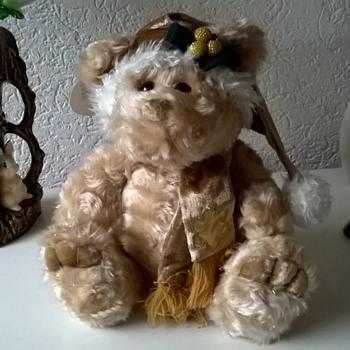 Rare Chosun International Plush Christmas Bear Salesman's Sample