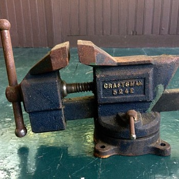 Antique Craftsman no. 5242 Vice ? - Tools and Hardware