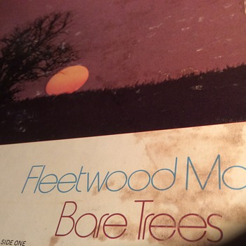 Fleetwood Mac bare trees original vinyl 1972 reprise records  - Records