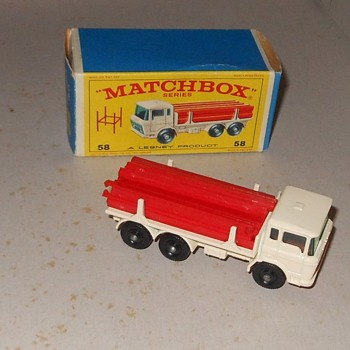 Monotonous Matchbox Monday MB 58 D.A.F Girder Truck - Model Cars
