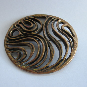 Bronze brooch by David Andersen????