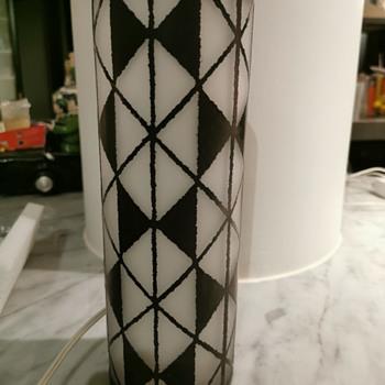 Japanese Art Glass Iwata Lamp - Art Glass