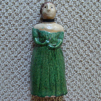 """Great, Great, Great Grandmother's 8"""" Antique Doll-would love any information  - Dolls"""