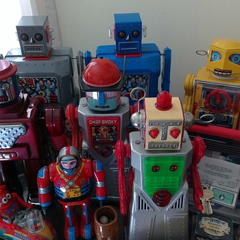 "Some of my ""kids"" - Toys"