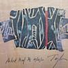 2010 Artist Proof Painting of Kimono on Wood