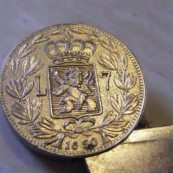 Flip-top coin stamp lighter? - Tobacciana