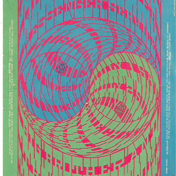 "Moscoso's ""Horns of Plenty"", Avalon Ballroom, Summer of 1967 - Posters and Prints"