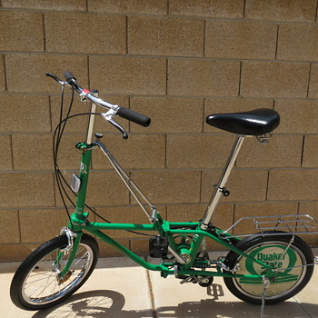 Rare Quaker State Dahon III Folding Bicycle Mint Condition - Sporting Goods
