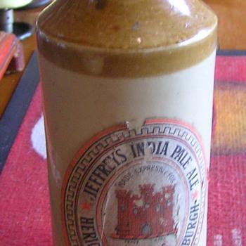 Heriot Brewery  Jeffrey's India Pale Ale  Edinburgh - Bottles