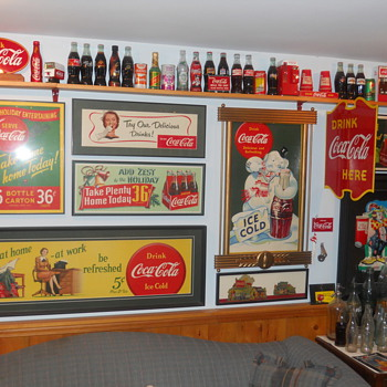 Some pictures of my collection - Coca-Cola