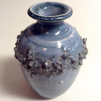 Glit HF Iceland Lava Ceramic Cabinet Vase - Pottery