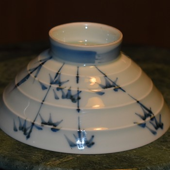 Fine Porcelain Chawan from Japan - Asian
