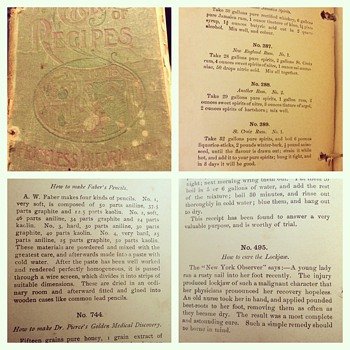Standard Cyclopedia of Recipes  - Books
