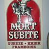 LARGE MORT SUBITE BEER SIGN