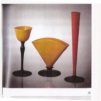 Harrachov Czechoslovakia - Harrach Glassworks Art Deco Era Documentations 1920-40 - Art Glass