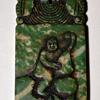 Jade Mystery Piece.... Amulet - Asian