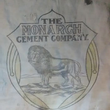 Monarch Cement Bag - Advertising