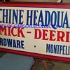 McCormick -Deering sign