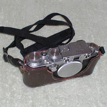 1950/51 - Leica IIIf Camera - Cameras