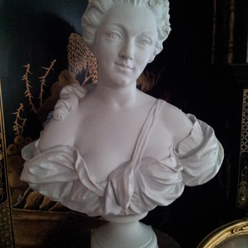 Life Size Parian Bust Of Madame Pampadour