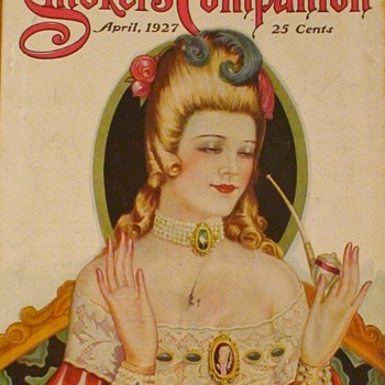 The Smokers Companion Magazine April 1927