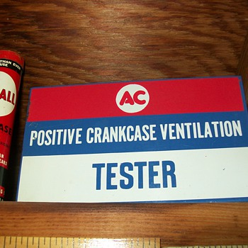AC pcv tester - Signs