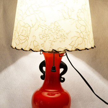 Japan Art Deco vase - lamp base