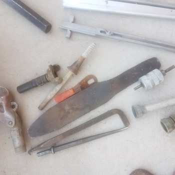 Help identifying some cool items - Tools and Hardware