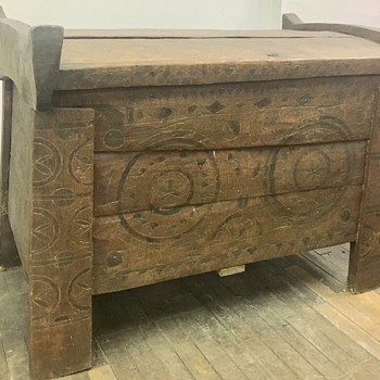 Shepherd's Marriage Chest Transylvania - Furniture