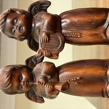 Vintage cherubs - Figurines