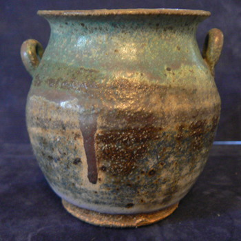 Small ceramic Vase with Handles - Pottery