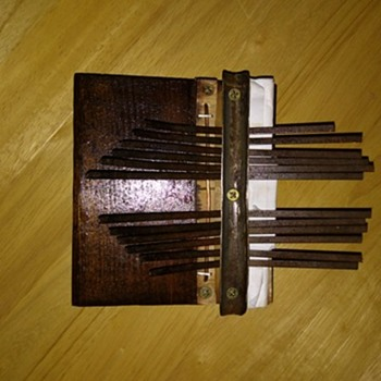 Homemade Mbira/Kalimba/Thumb Piano - Musical Instruments