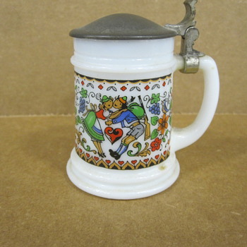 West German Shot Glass Tankard
