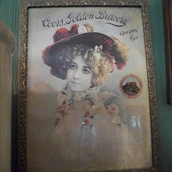 Another framed Advertisement