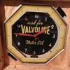 Neon valvoline clock