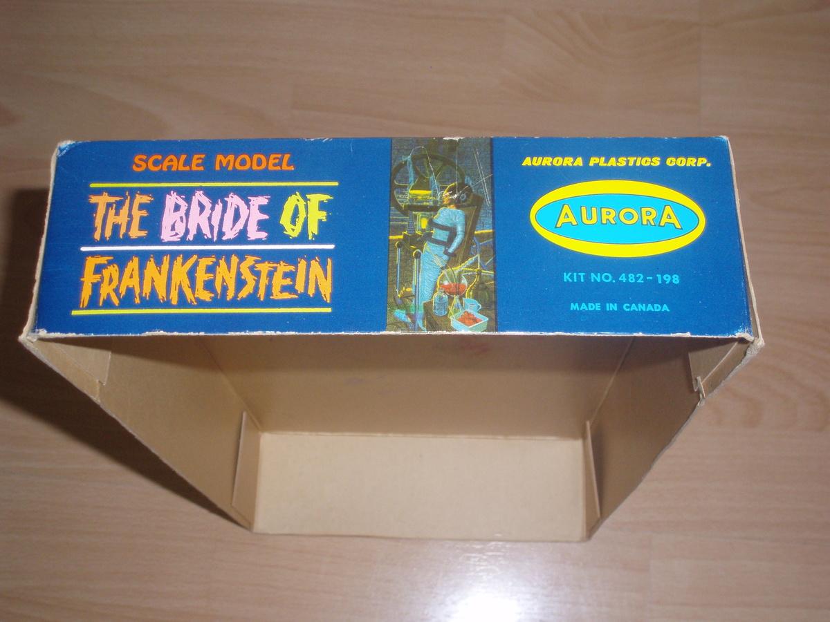 ORIGINAL AURORA BRIDE OF FRANKENSTEIN 1964 PLASTIC MODEL