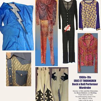 1960s-1970s Rock Performer ERIC ET THORNGREN Wardrobe  - Mens Clothing