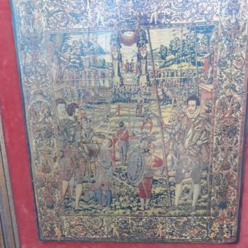 Vintage 1576 picture - Fine Art