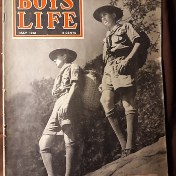 Saturday Evening Scout Post Boys Life Magazine 1941 - Sporting Goods